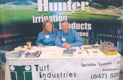 Dean and Mary Hirsh, Owners of Turf Industries